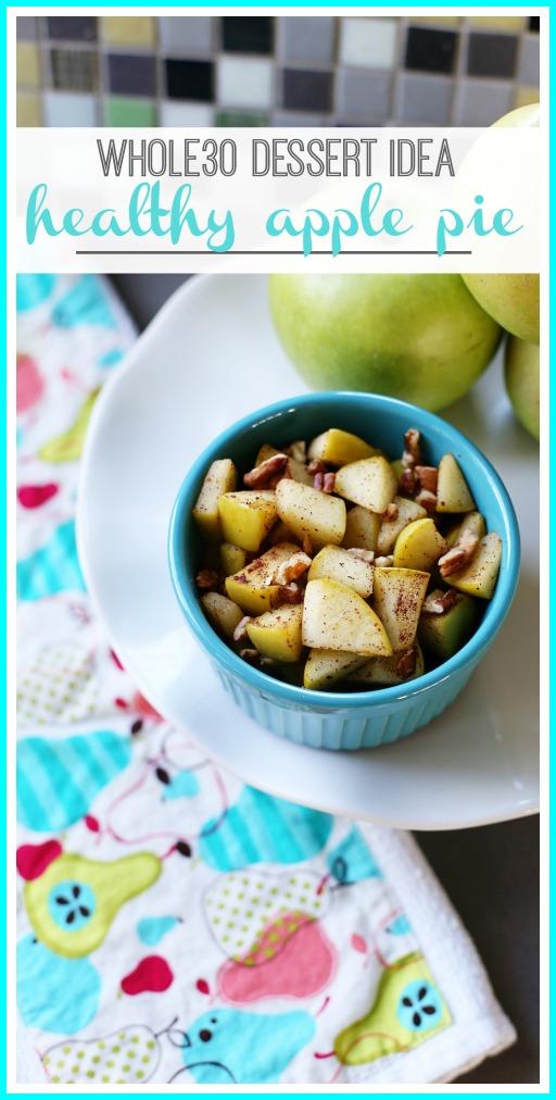 whole30 dessert apple pie