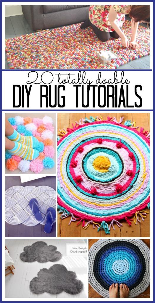 20 Diy Rug Tutorials Sugar Bee Crafts