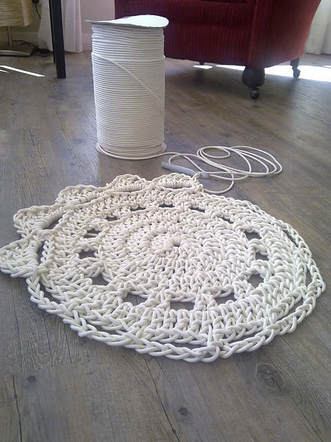 Cotton Rope Rug Tutorial Home Decor