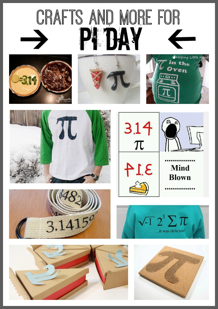 crafts and more for pi day march 14