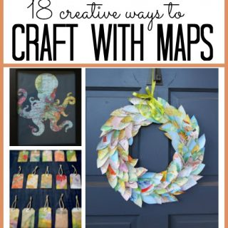 crafts with maps