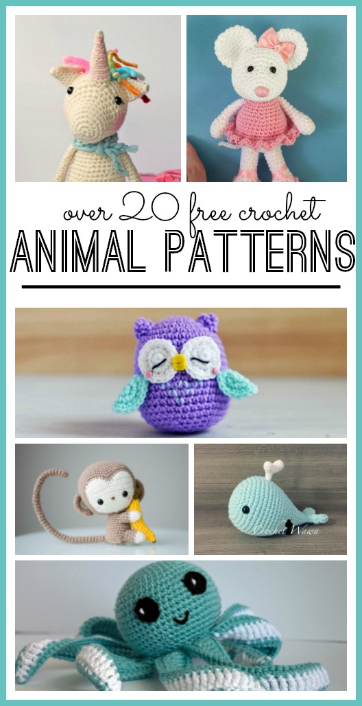 Animal Crochet Pattern - Page 12 of 20 - Sugar Bee Crafts