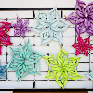 Dimensional paper stars