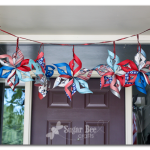 Paper Stars – Red White and Blue