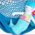 sew a simple mermaid doll