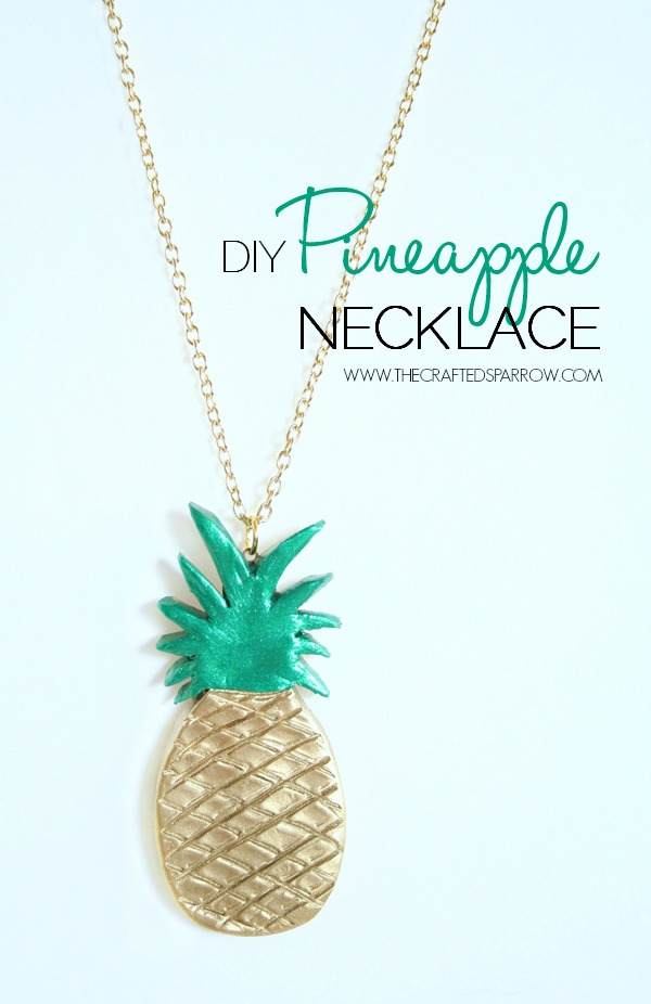 DIY-Clay-Pineapple-Necklace