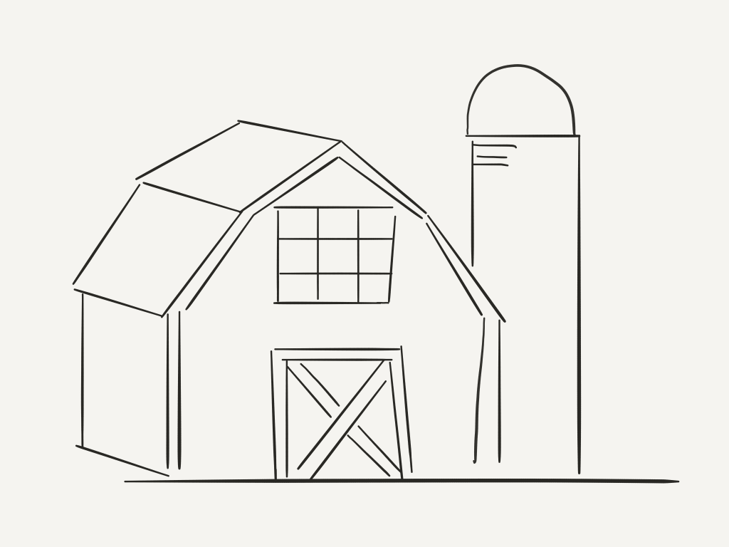 barn pictures to coloring pages - photo#11