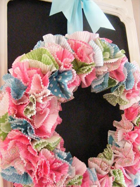 cupcake wreath 11
