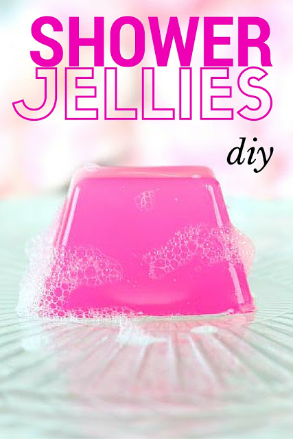 diy shower jellies tutorial how to