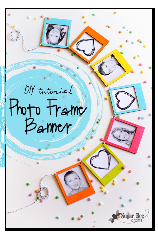 photo frame mini banner tutorial