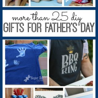 Father's Day DIY Gifts Roundup