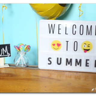 Welcome to Summer Party Decor