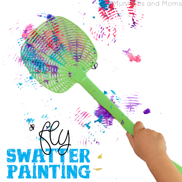 Messy Paint Kid Activities Sugar Bee Crafts