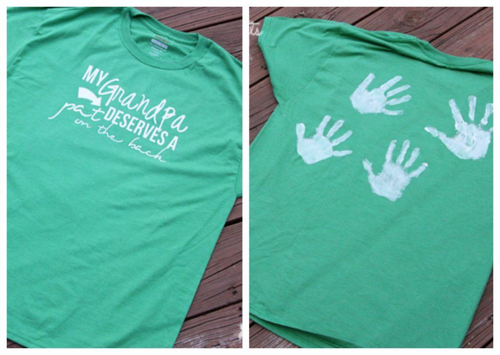 handprint shirt