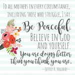 Mother's Day – Get in Those Pics! (with printable)