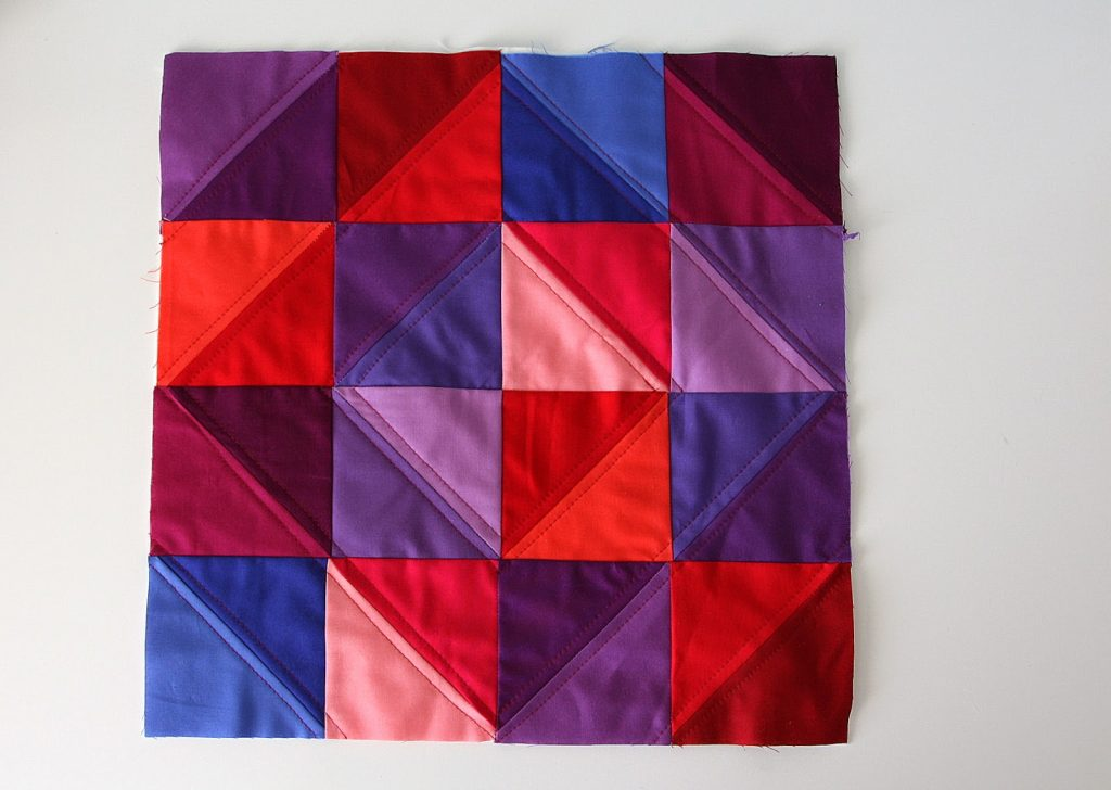 monochromatic-half-square-triangle-quilt-block