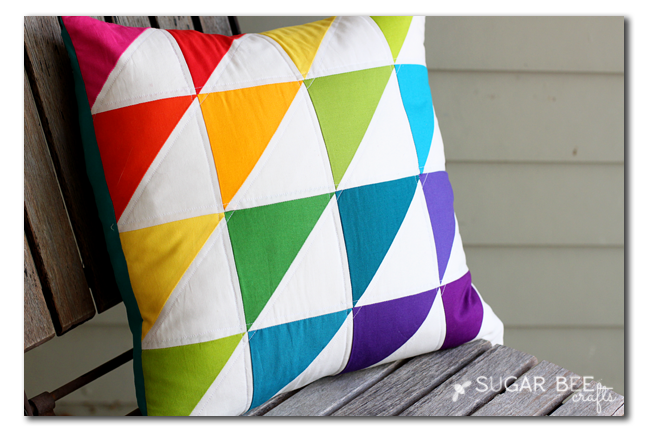 quilted-triangle-rainbow-pillow