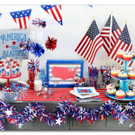 Patriotic Party Tablescape