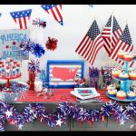 Patriotic Party Tablescape