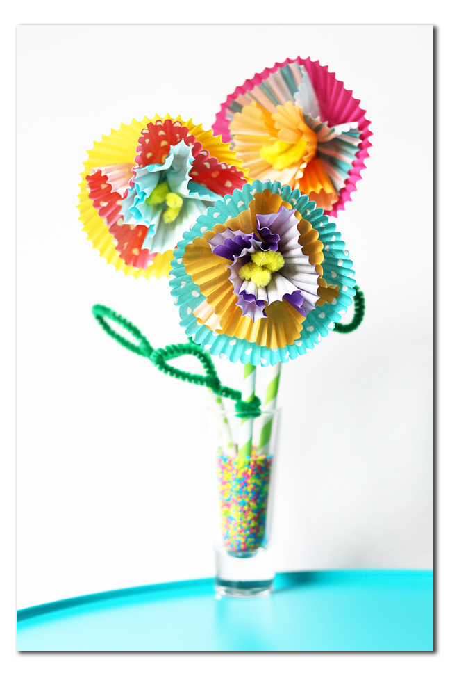 make your own flowers kids craft