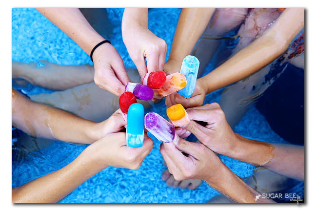 pool popsicles
