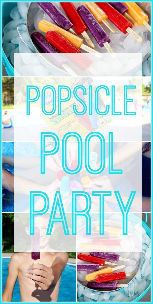 popsicle summer pool party