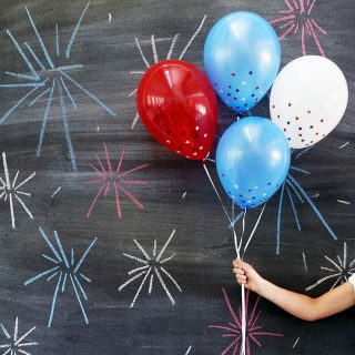 star confetti balloon IG