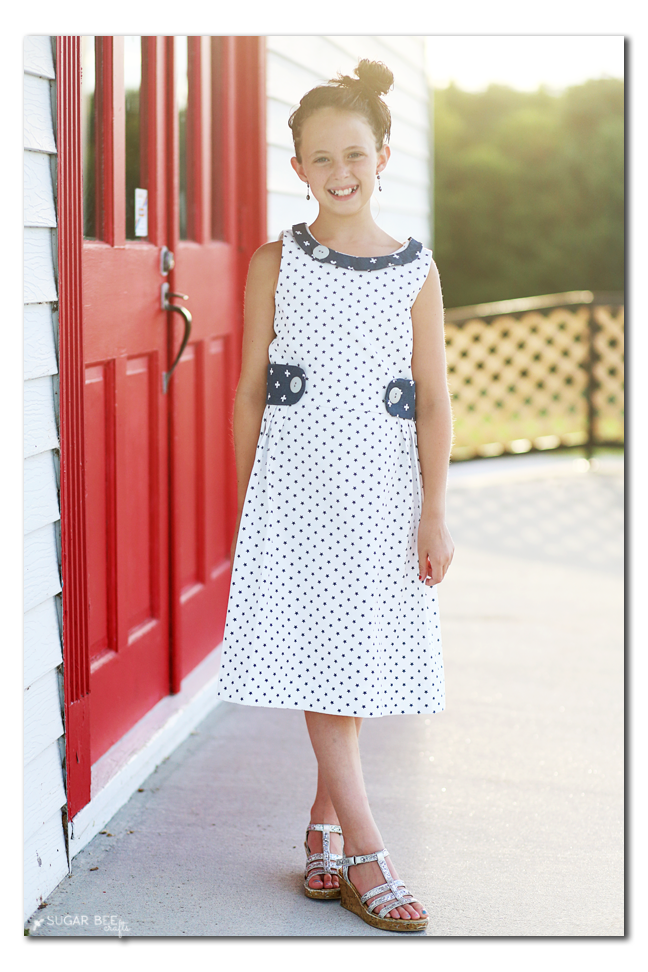star dress girls sundress pattern