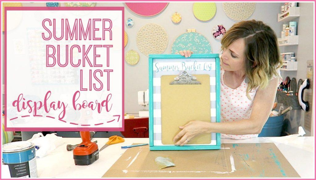 summer bucket list cover