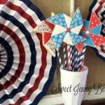 Patriotic Pinweel Cookie Pop