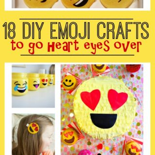 18 DIY Emoji Crafts