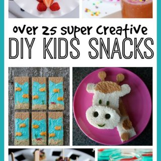 DIY kids snacks
