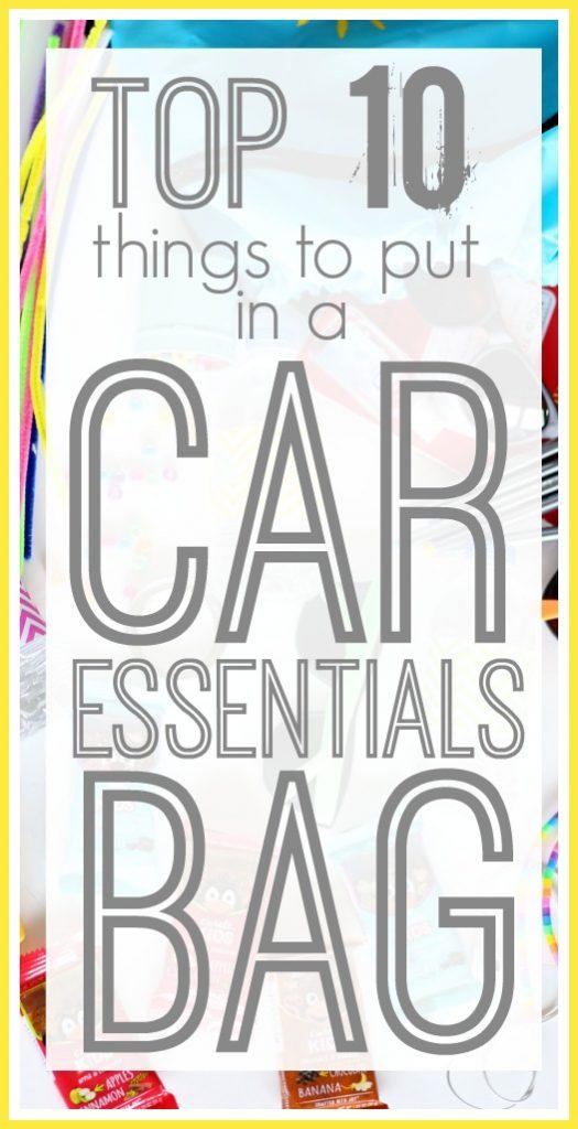 car essentials grab n go bag list ideas