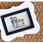 Personalized Stitched Family