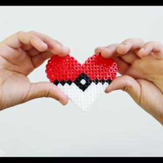 Pokemon go perler melting beads