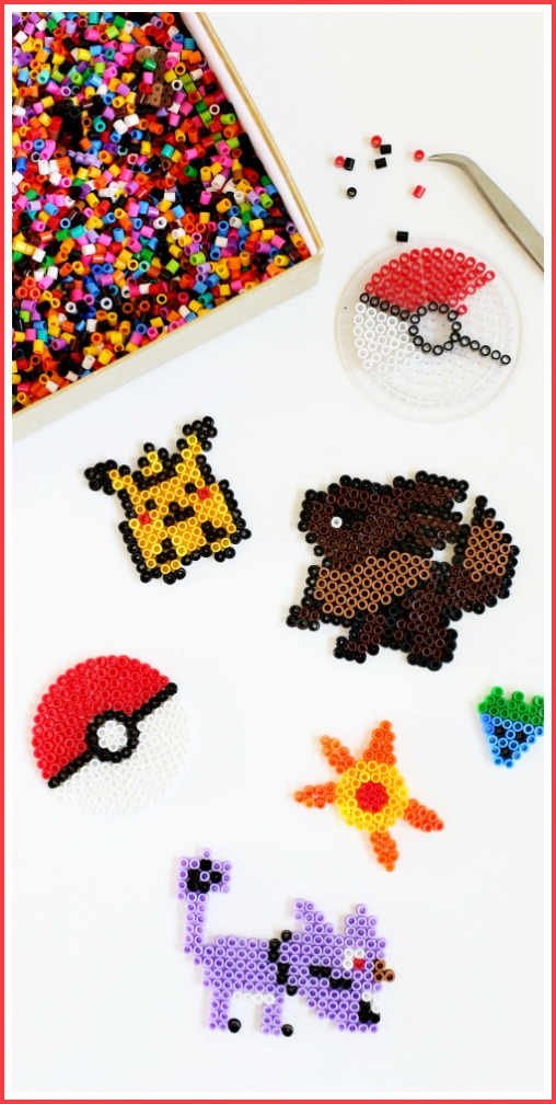pokemon go things to make perler melting beads