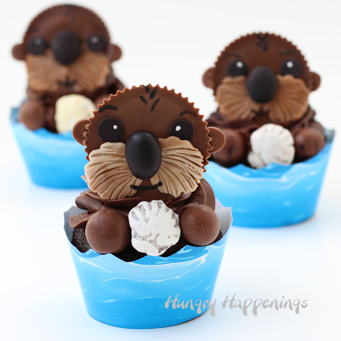 reeses-cup-sea-otter-cupcakes-finding-dor