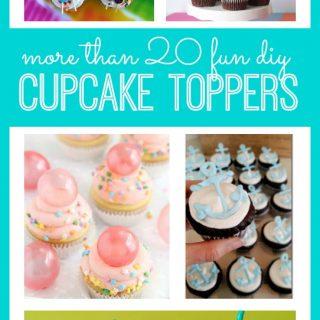 DIY Cupcake Toppers