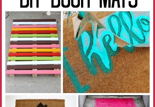 DIY Door Mat Roundup