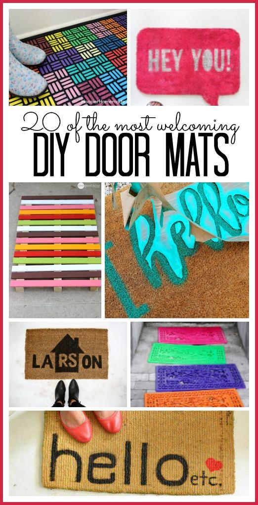 DIY door mats
