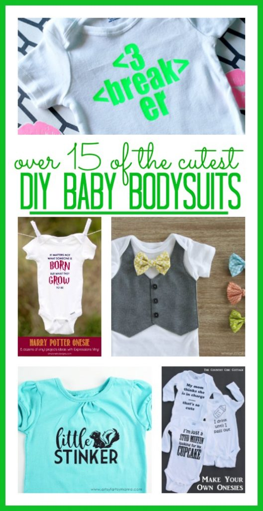 Diy Baby bodysuits