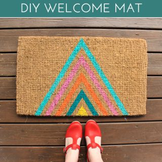 Geometric door mat final3