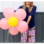 Simple Balloon Flower, Balloon Surprise Creation