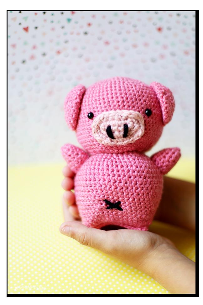 Free Amigurumi Patterns Guinea Pig : Crochet Pig Amigurumi - Sugar Bee Crafts