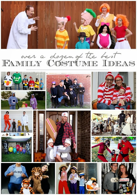 family group costume ideas