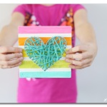 String Art Heart Kids Craft