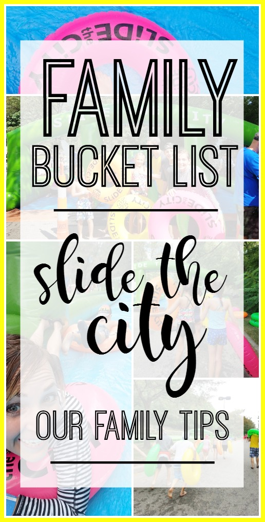 tips for taking your family to slide the city