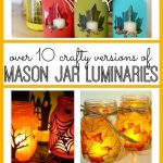 Mason Jar Luminary Ideas