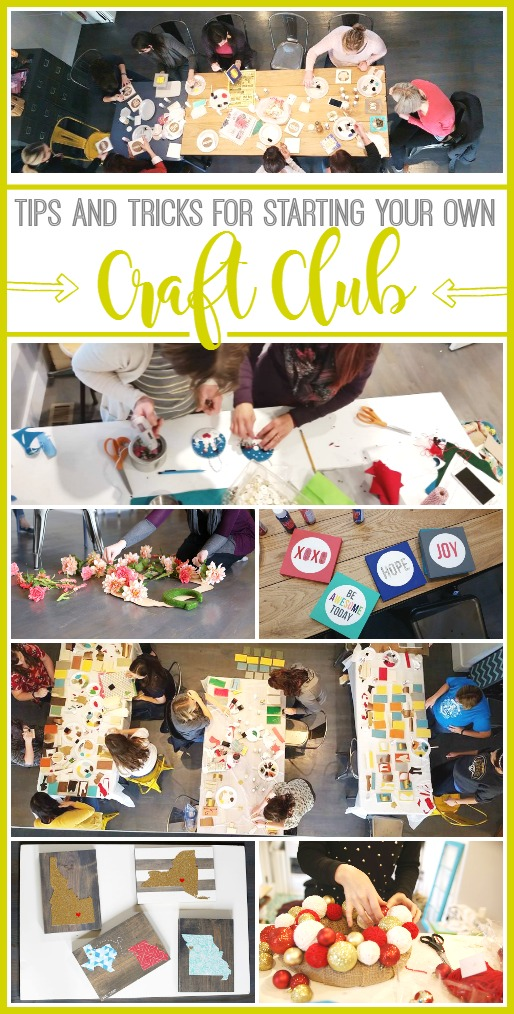 how-to-start-a-craft-club