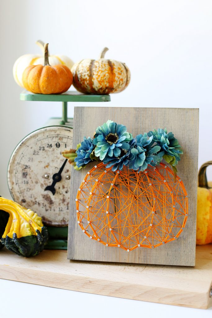 pumpkin-floral-fall-flowers-string-art